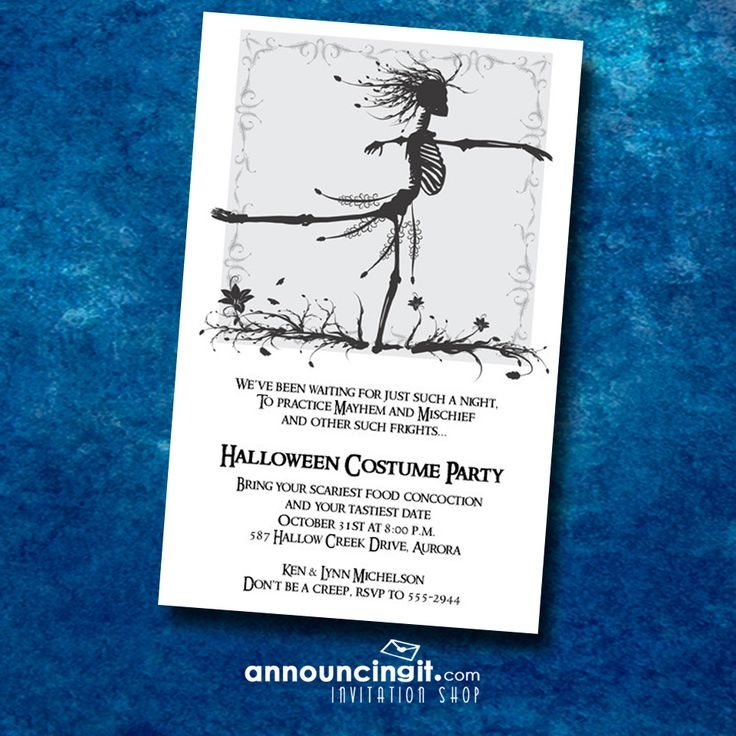 97 best Halloween Invitations images on Pinterest | Halloween ...