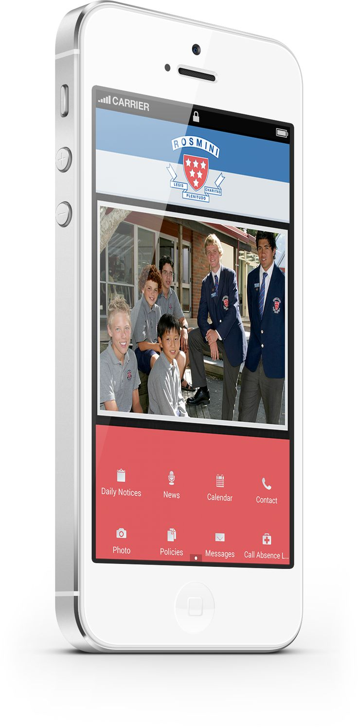 Rosmini College Mobile App promotes communication within the school community. http://www.mobileappfx.co.nz/education