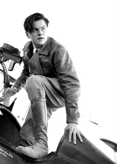 Leonardo DiCaprio in The Aviator
