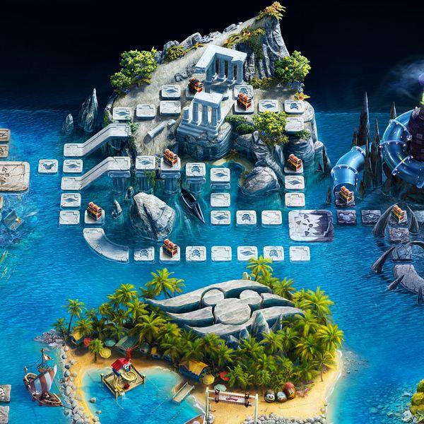 Disney Cruise Line - Magical Adventure Sweepstakes by Peter Jaworowski, via Behance