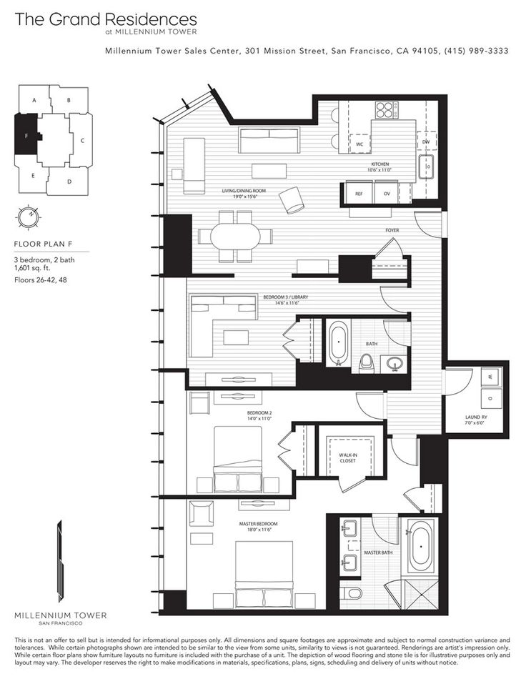 13 best millennium tower sf floor plans images on for Floor design sf