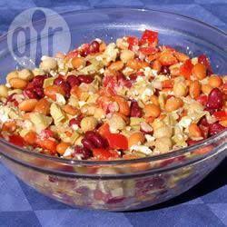 La salade de légumineuses de Bob @ qc.allrecipes.ca