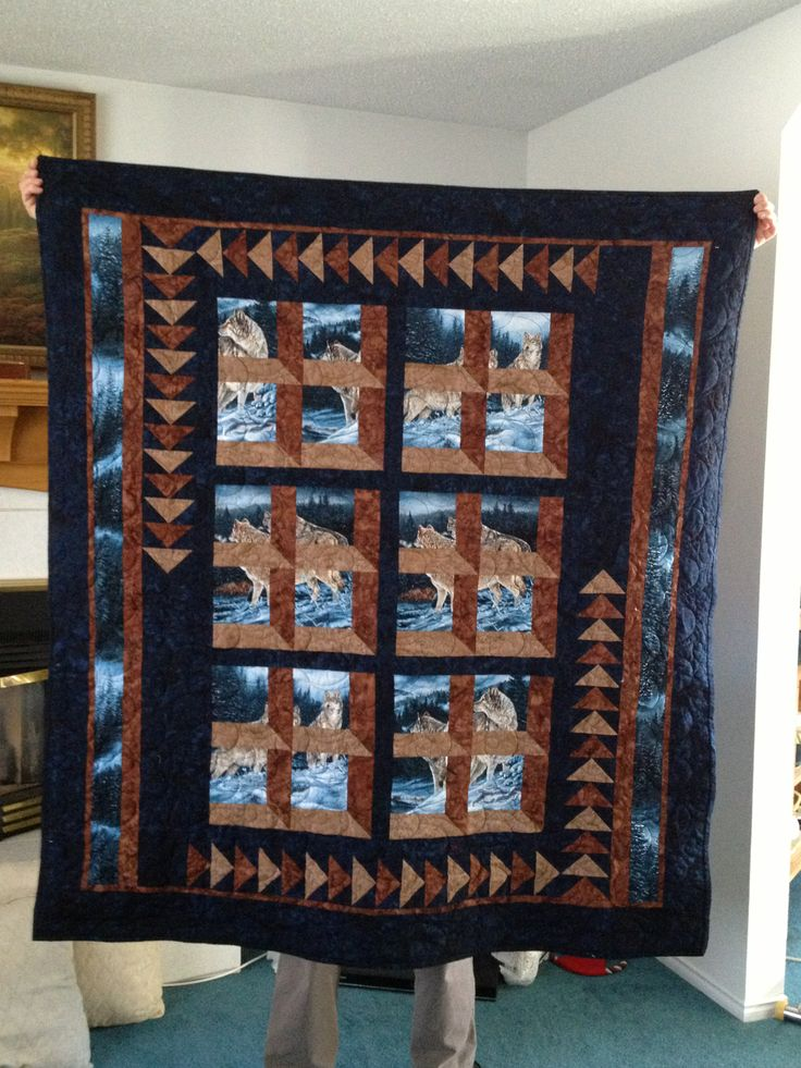 I created this quilt for my sweetie Albert..Attic Window, flying geese.  Lap Quilt