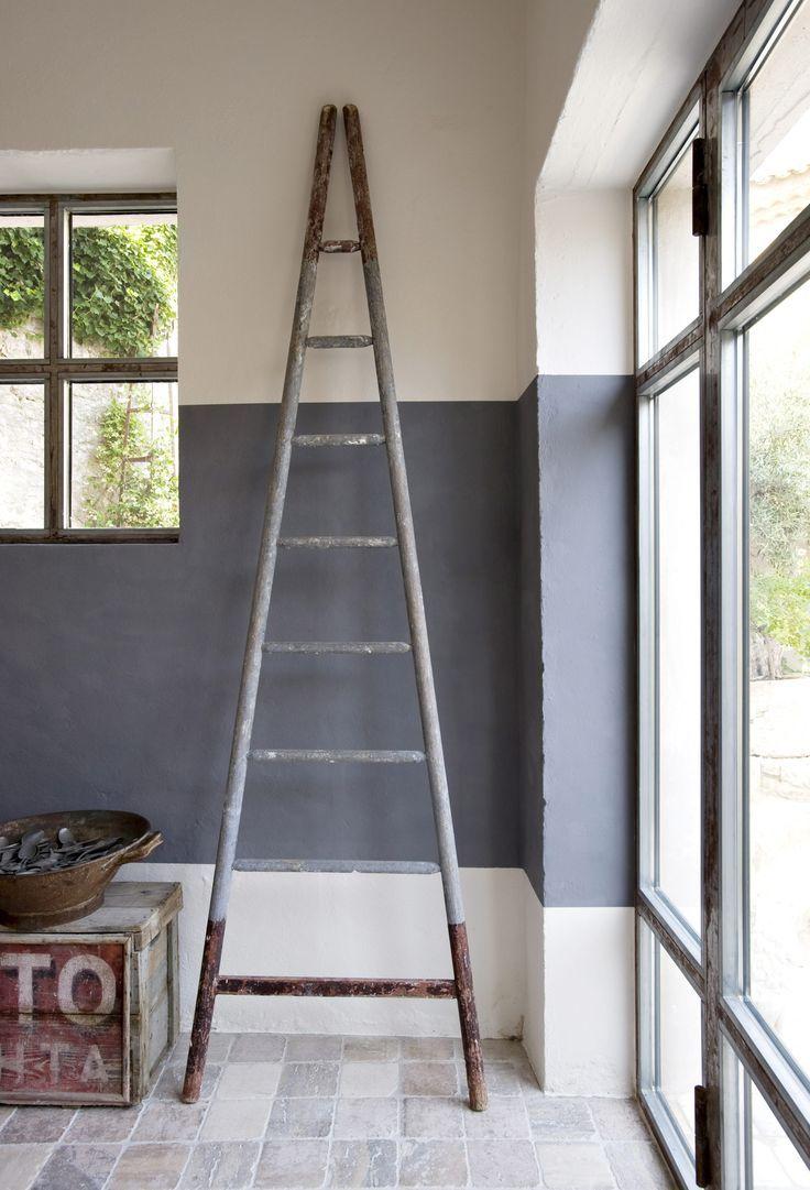 17 beste idee n over lambrisering op pinterest muur lambrisering werkruimtes en lambrisering - Verf voor gang ...
