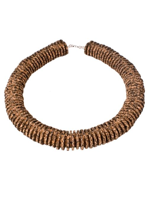 Unmess Cork Necklace . Portuguese Independent Brand of Contemporary Jewellery