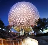 Spaceship Earth! This is one of my family's favorite attractions. Once during a particularly bad storm we rode it 5 ties in a row since there was no line! We are all thankful for these memories!