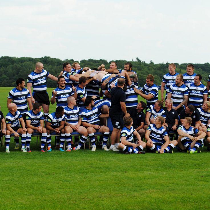 Bath Rugby team getting cheeky! #Bath #Rugby