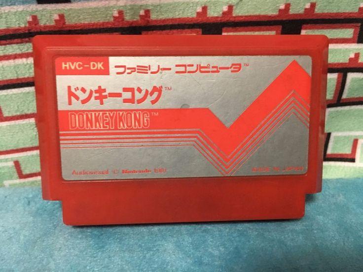 Donkey Kong Famicom Japan NTSC-J Nintendo Family Computer