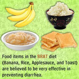Food to Stop Diarrhea