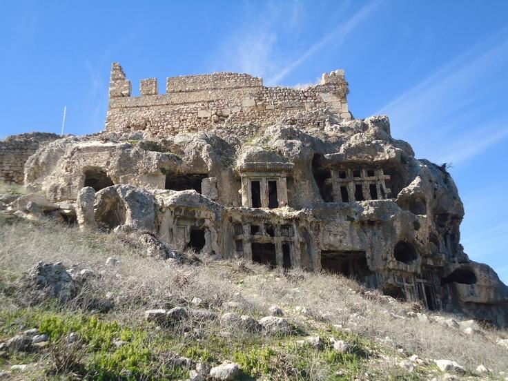 Fethiye, tombes van Tlos