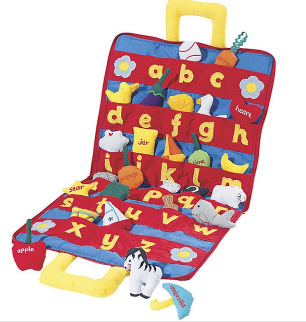 ABC Carrybag, $34.95 | 40 Children's Toys That Give The Gift Of Learning