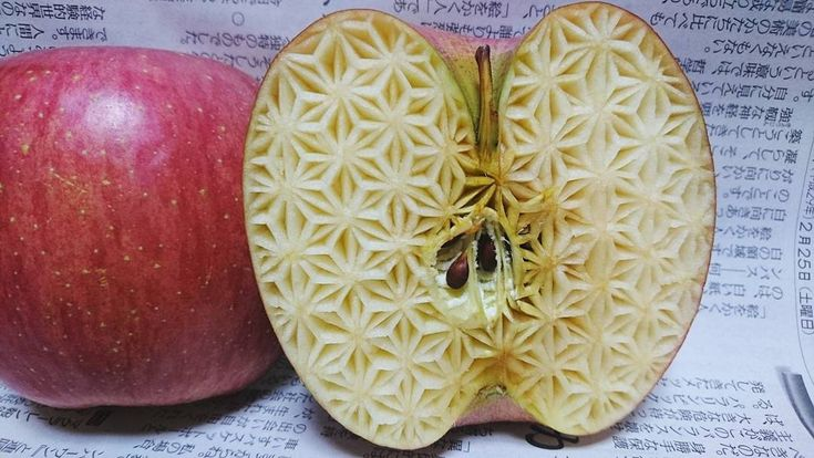 Les Sculptures Mukimono sur Fruits et Légumes de Gaku (2)