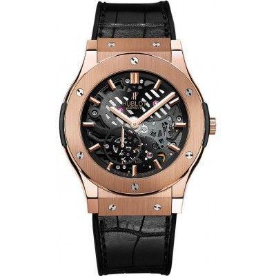 Hublot Classic Fusion Classico Ultra Thin Skeleton Watch