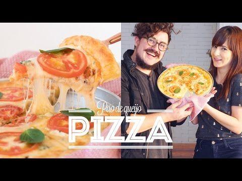 PIZZA DE PÃO DE QUEIJO   O Bigode Na Cozinha   Dani Noce - YouTube