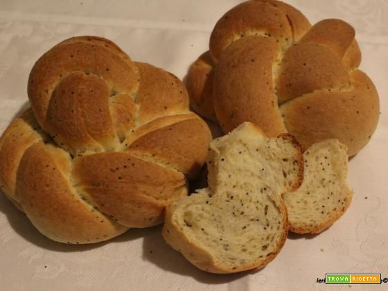 Pane giapponese con semi di papavero (2)  #ricette #food #recipes