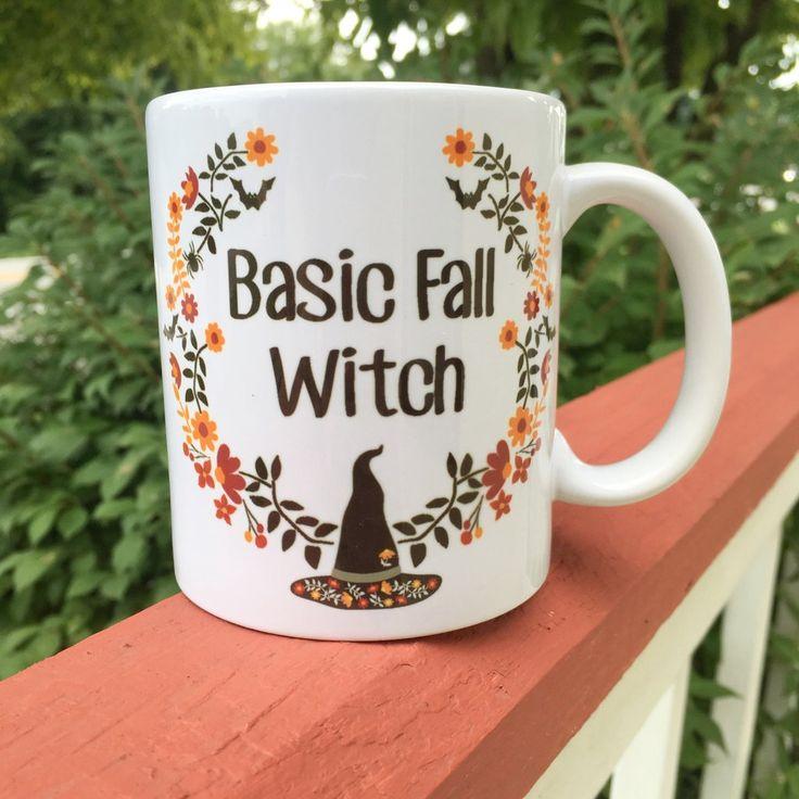 Basic Fall Witch Mug