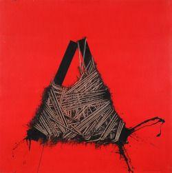 Emilio Scanavino (Italian, 1922-1986), Forced, 1972.