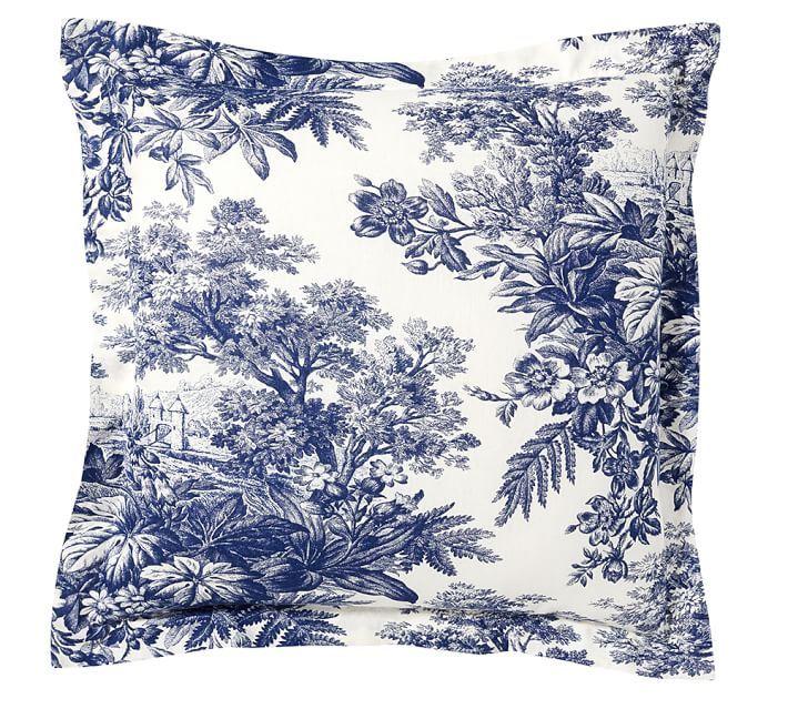 Best Bedding Images On Pinterest Sheet Sets Master Bedrooms - Blue and white toile duvet cover