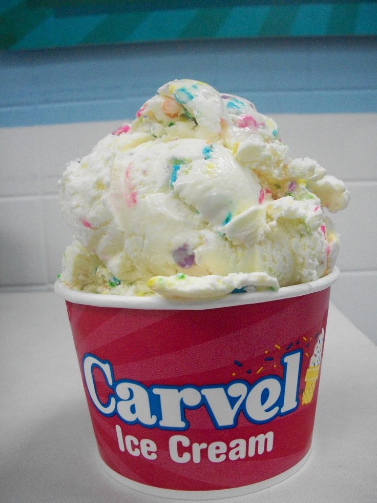 Vintage Carvel Ice Cream Cake