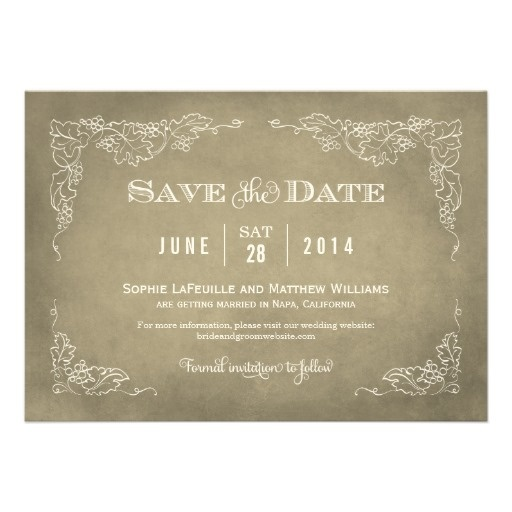 Best  Formal Wedding Save The Dates Ideas On   Formal