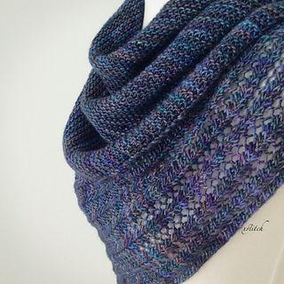 Another stitchnerd stress free knit! No counting. Rhythmic stitch pattern and great use of beautiful yarn! 178