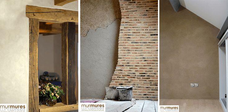 Enduit Monocouche Naturel - ARGILUS Mur Pinterest Salons - enduit pour mur interieur