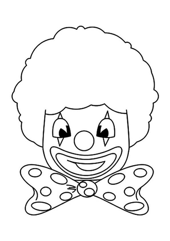 Palhaco Para Colorir In 2020 Clowns Funny Coloring Pages Clown