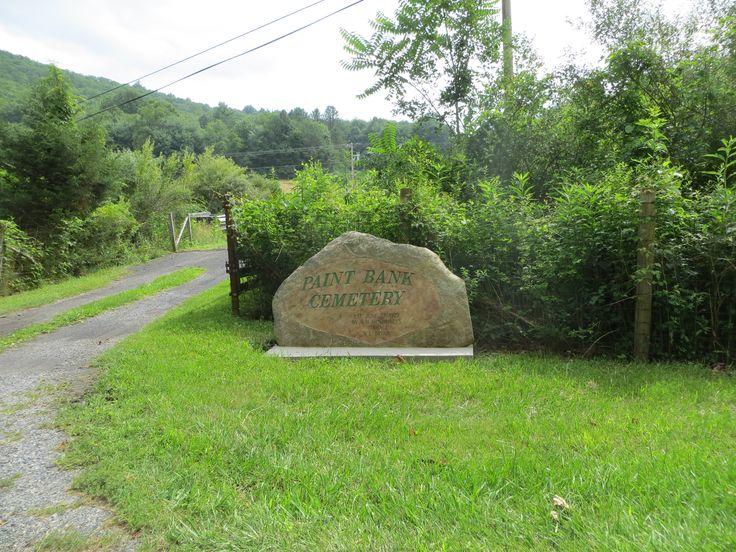Paint Bank Community Cemetery, Craig County Virginia  USA