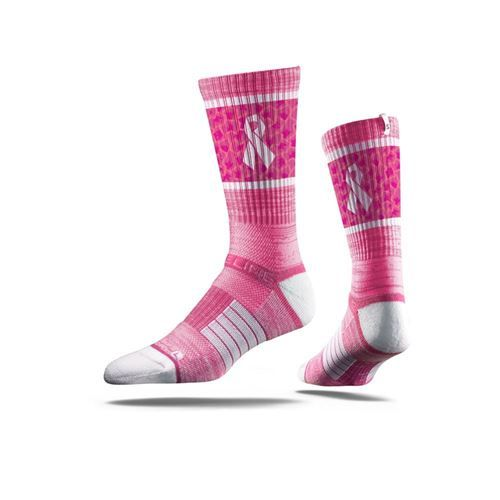 Stridelines are designed to embody the look, feel, and tradition of Seattle  City Skyline. This Retro Pink sock features sweat-wicking fibers, select  terry ...
