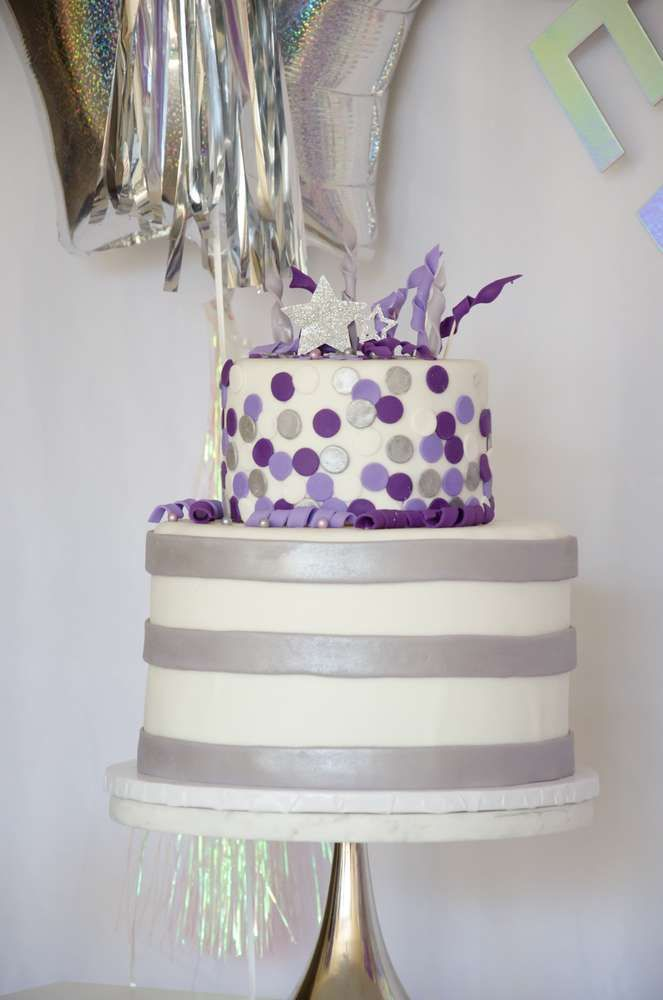 New Years New Year S Party Ideas Photo 1 Of 23 Cake New Years Eve Party Eve Parties