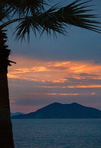 Calis Beach Sunset