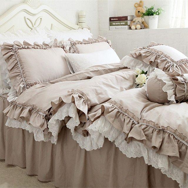Кружевной комплект постельного белья кружевное белье ретро