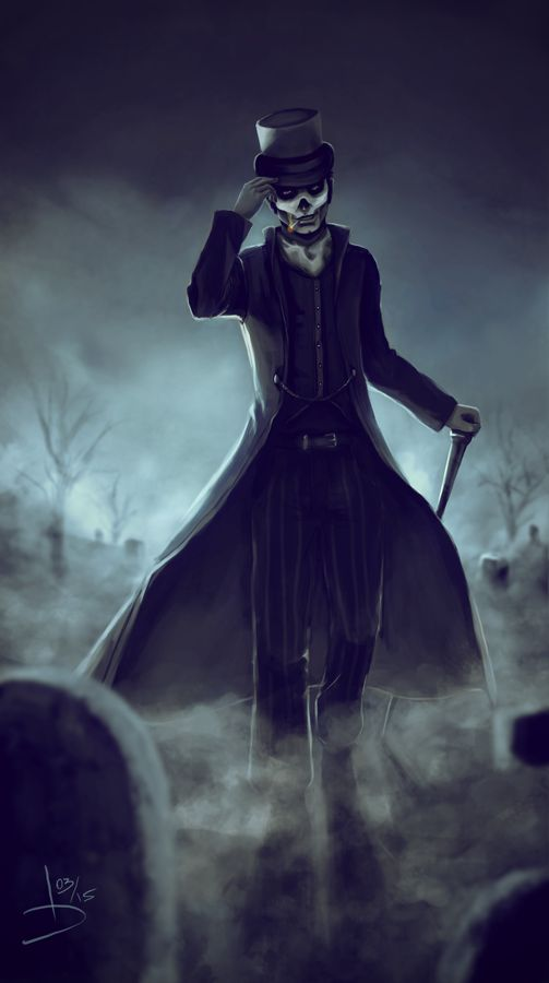 Baron Samedi by LoreCoffee on DeviantArt