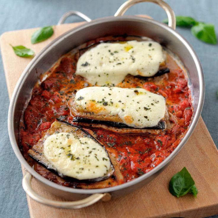 Découvrez la recette Les aubergines d'Oranne sur cuisineactuelle.fr.