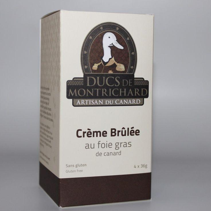 Ducs de Montrichard - Crême brûlée au foie gras
