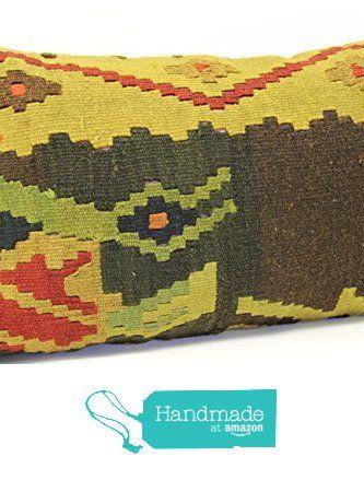 Bohemian kilim pillow cover 16x24 inch (40x60 cm) Decorative Lumbar Kelim pillow cover Home Decor Ethnic Pillow cover Kilim Cushion Cover from Kilimwarehouse https://www.amazon.com/dp/B07227H2CV/ref=hnd_sw_r_pi_dp_op09ybSMTPYDQ #handmadeatamazon