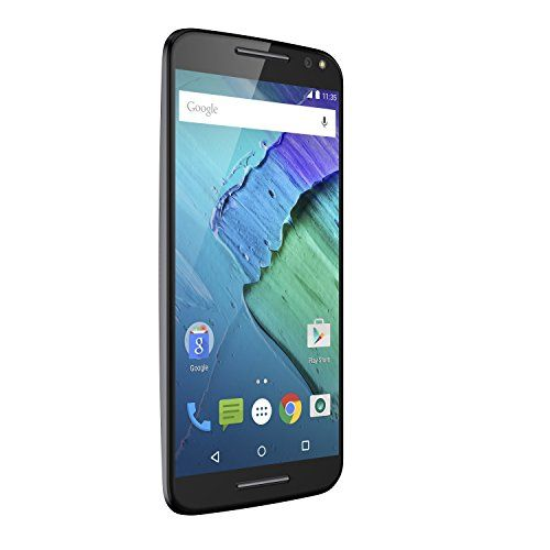 Moto X Pure Edition Unlocked Smartphone, 32GB Black (U.S. Warranty – XT1575)   Moto X Pure Edition Unlocked Smartphone, 32GB Black (U.S. Warranty - XT1575) Stunning 5.7' Quad borderless display on a device that's extremely comfortable to hold and use. Hyper-intelligent 21 MP camera with enhanced focusing technology, zero shutter lag and a colon adjusting flash for the fastest capture and best images. All day battery life (30+ hrs.) that can be turbo powered to give you 10 hours on a ..