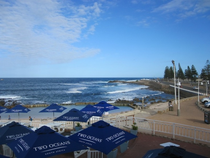 View from where I had the most delicious seafood EVER (Kingfisher Restaurant in Mossel Bay, South Africa)