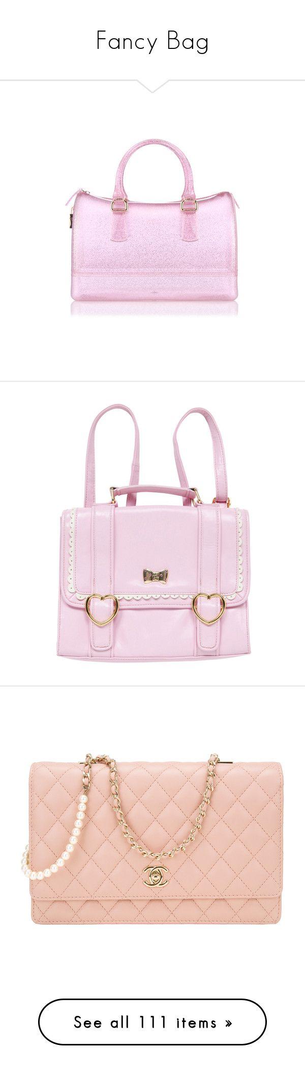 """Fancy Bag"" by faanciella ❤ liked on Polyvore featuring bags, handbags, furla bags, pvc handbags, pink handbags, furla, furla purses, accessories, backpacks and pink"