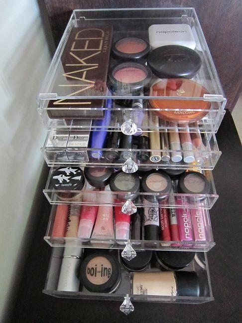 13 Perfect DIY Makeup Organization Ideas