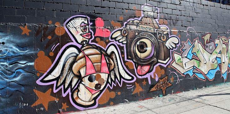 Граффити - Бушвик, Нью Йорк. Обсуждение на LiveInternet - Российский Сервис Онлайн-Дневников