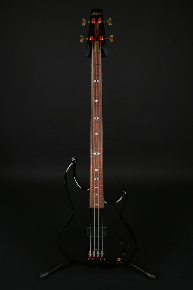Ariapro II SB-Black'n Gold Cliff Burton Signature Bass Limited Edition 250 Made #AriaproII