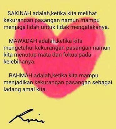 Sakinah Mawadah Warrahmah