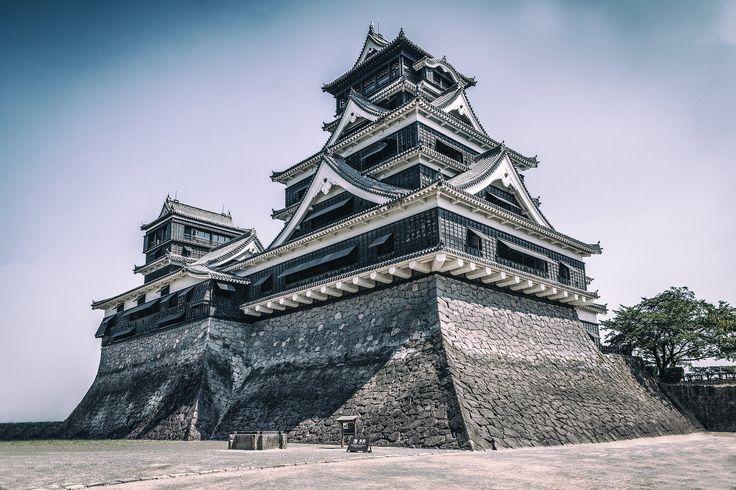 Gingko-Castle Kumamoto   by Thilo Hilberer