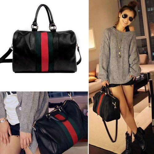 Fashion Women Handbag Shoulder Bags Tote Purse Pu Leather Messenger Hobo Bag Gkd