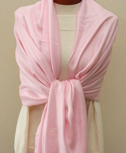 Weddings gifts Light pink Pashmina bridesmaids by ClassyWedding, $ 20.00