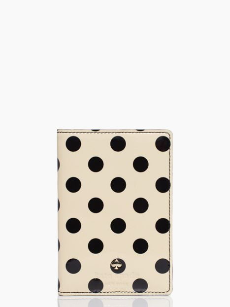 It's little things like this that add the class. Carlisle street passport holder; KateSpade.com $68