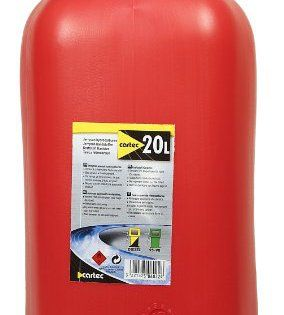 Cartec 506022 Jerrican Homologué Carburant 20 L: jerrican jerrycan essence carburant bac vidange bidon d'essence US Jeep Cet article Cartec…
