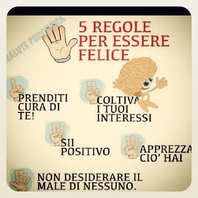 Learning Italian - 5 Rules to be Happy