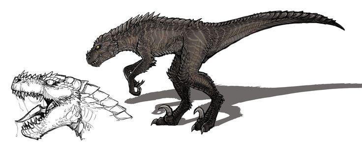 raptor, dinosaurs, creature design